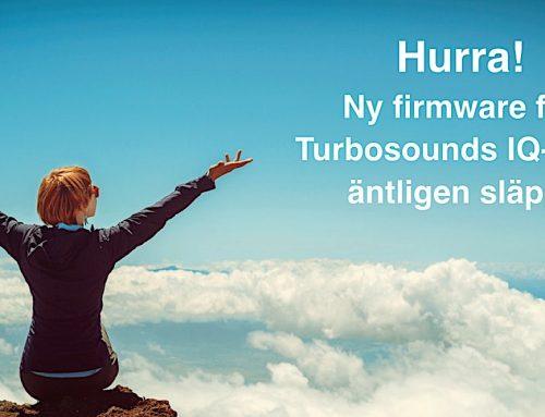 Ny firmware från Turbosound