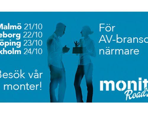 Monitor Roadshow 21–24 oktober Södra Sverige