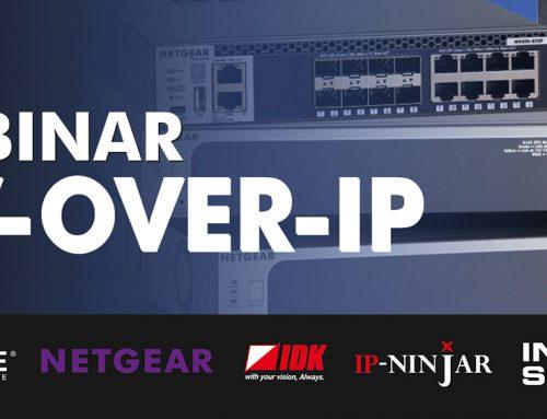 Inbjudan webinar om AV över IP