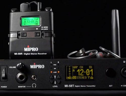 Nytt prisvärt ljudsystem från Mipro, MI-58 serien