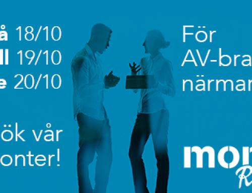 Monitor RoadShow norra Sverige